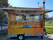 The Halal 101 Food Truck On Campus