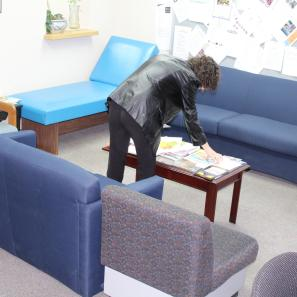 Student Lounge in Department of Social Work at CUNY CSI