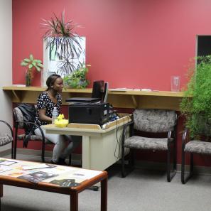 Main Lobby in Department of Social Work at CUNY CSI