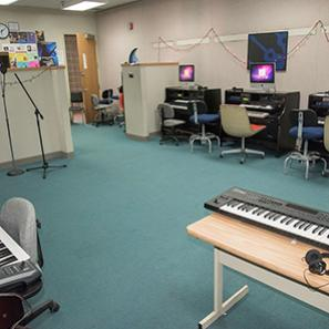 Music facility for recording and production