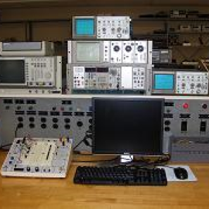 electronics lab  in department of Engineering and Environmental Science