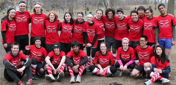 Macaulay College Quidditch Team