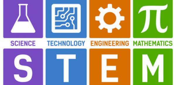 STEAM - Science, Technology, Engineering and Math logo