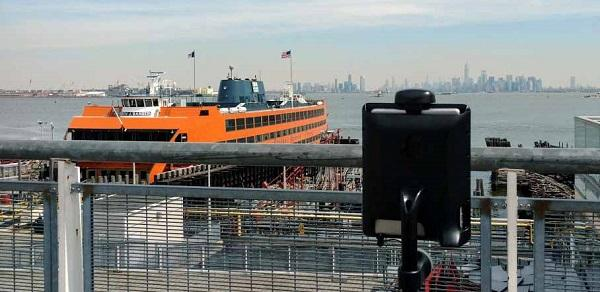 Double Overlooking the Staten Island Ferry at St. George
