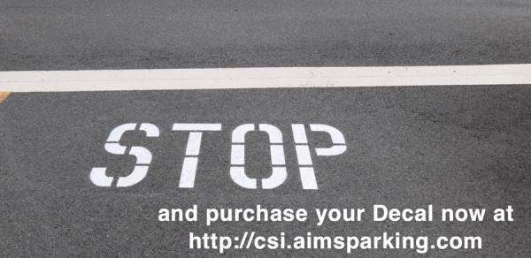 STOP and Purchase your decal