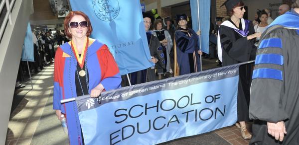 Parade photo, Board of Education