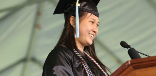 RinZhi Go Laroque, CLIP Alumna & CSI Valedictorian, Class of 2016