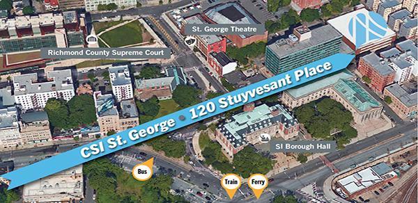 CSI St. George Map