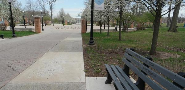 Public Safety Campus Bench Image