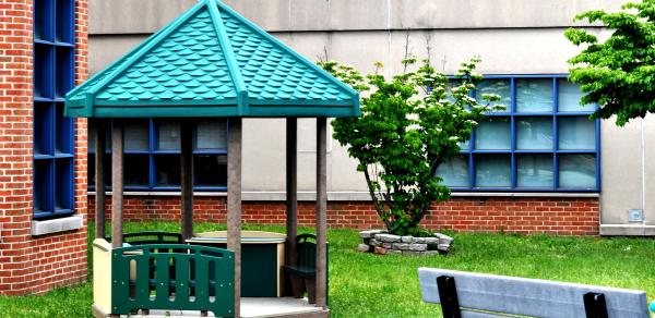 Gazebo. Outdoor Playground