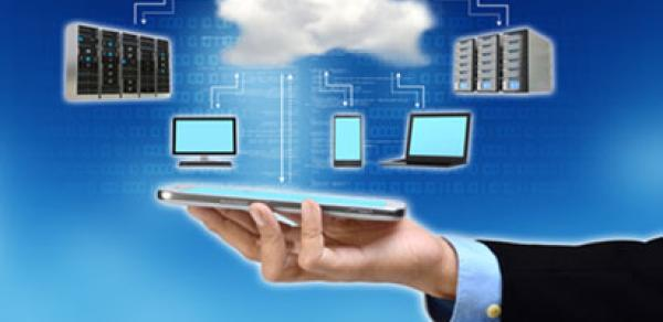 Computer cloud image