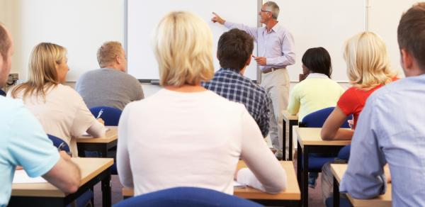 faculty in classroom