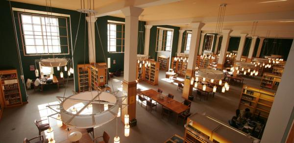 Inside of CSI Library