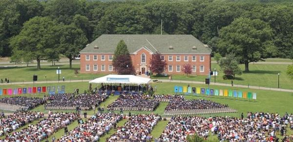 Commencement Arial Shot