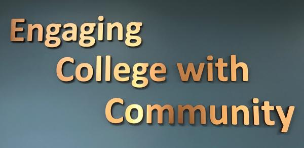 verbiage engaging college with community