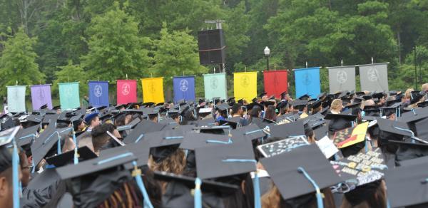 graduates walking CSI