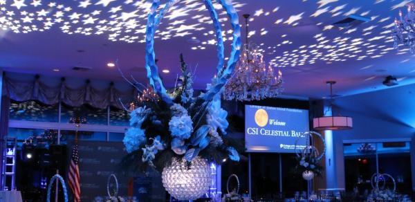 Celestial Ball table center piece