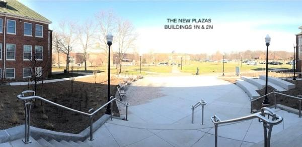 plaza building 1N and building 2N