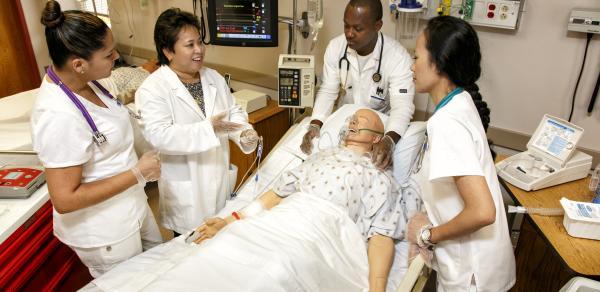 nursing scene CSI