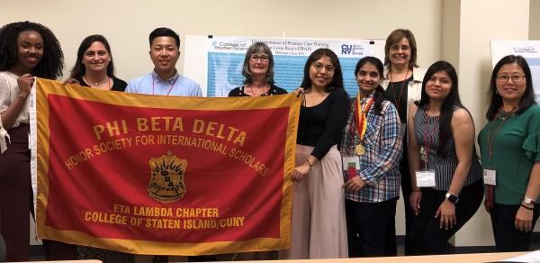 A cohort from the Eta Lambda Chapter, College of Staten Island/CUNY attending the PBD Annual International Conference hosted by the Shepherd University, West Virginia.