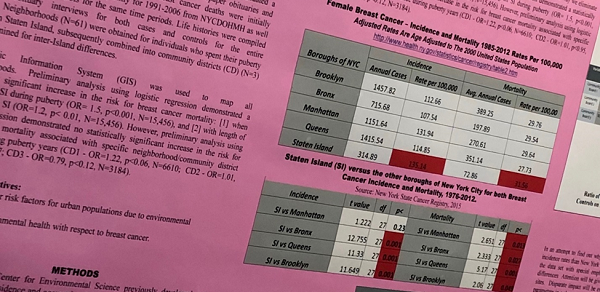 Section of Female Breast Cancer Report