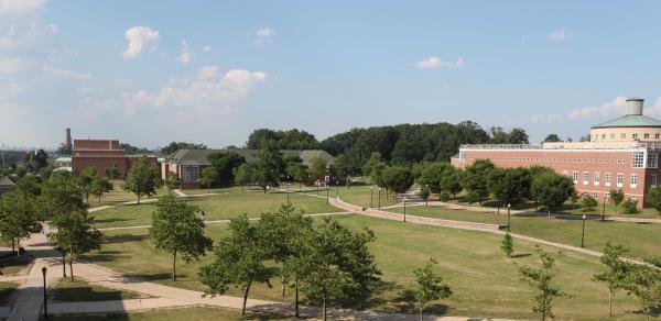 campus aerial picture