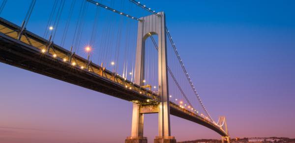 Verrazano Bridge at Twilight