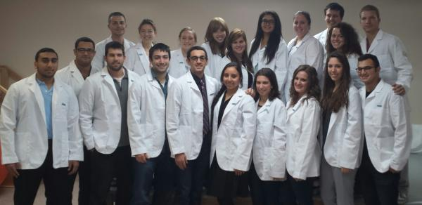 Physical Therapy, white coat students