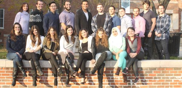 Physical Therapy group of students