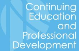 Continuing Education and Professional Development Logo