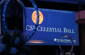 Celestial Ball signage