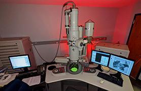 Fei Tecnai Spirit Transmission Electron Microscope in Lab