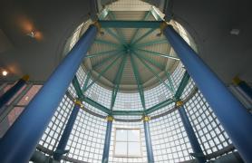 Top of library rotunda